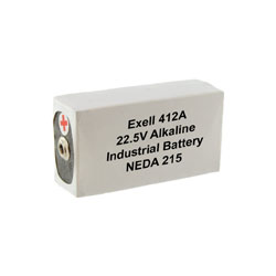 Item No. 412A ALKALINE 22.5V BATTERY NE