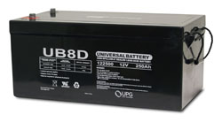 UB-8D AGM W/ AUTO POST