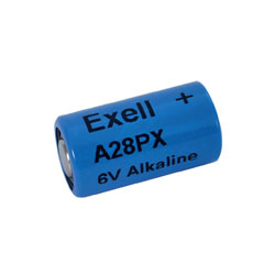 Item No. A28PX 6V ALKALINE BATTERY L544