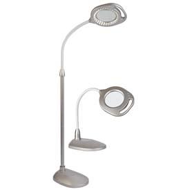 OTTLITE 2 IN 1 LED MAG FLR TBL WHITE 43828C FLOOR LAMP