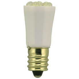LED-WHITE-51/2-CAND-6-28V