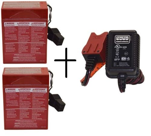 6V RED BATTERY PACK / CHARGER